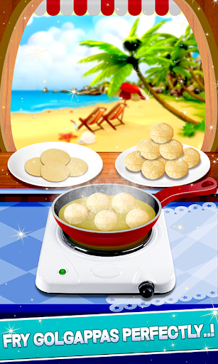 Panipuri Maker Indian Cooking Game screenshots 9
