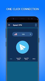 Speed VPN-Fast, Secure, Free Unlimited Proxy 4.0.4 Screenshots 1