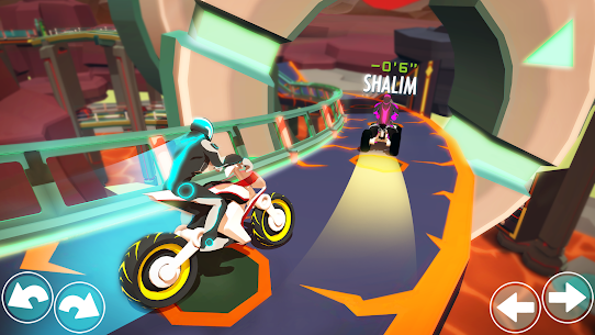 Gravity Rider Mod Apk: Extreme Bike Racing 4