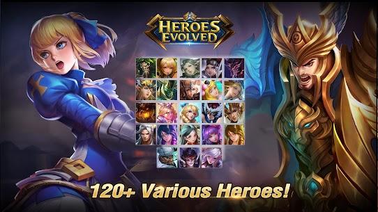 Heroes Evolved Mod Hack Apk
