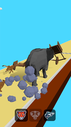 Animal Transform Race - Epic Race 3D apkslow screenshots 6