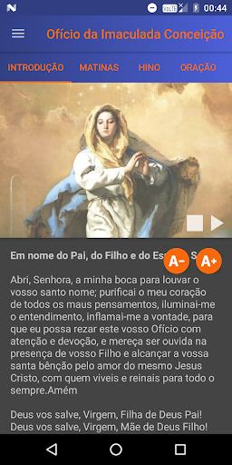 Foto do Oficio da Imaculada Conceição