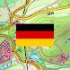 Deutschland Topo Karten