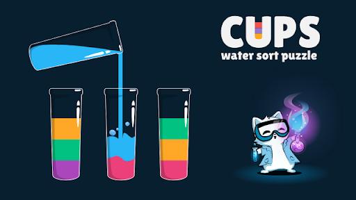 Cups - Water Sort Puzzle screenshots 14