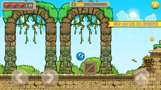Blue Ball 11: Bounce Ball Adventure 2.1 screenshots 8