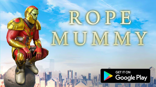 Rope Mummy Crime Simulator: Vegas Hero screenshots 9
