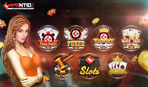 Gamentio 3D: Poker Teenpatti Rummy Slots +More  screenshots 9