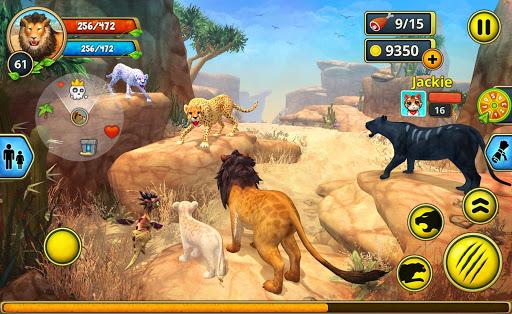 Lion Family Sim Online - Animal Simulator 4.2 screenshots 21