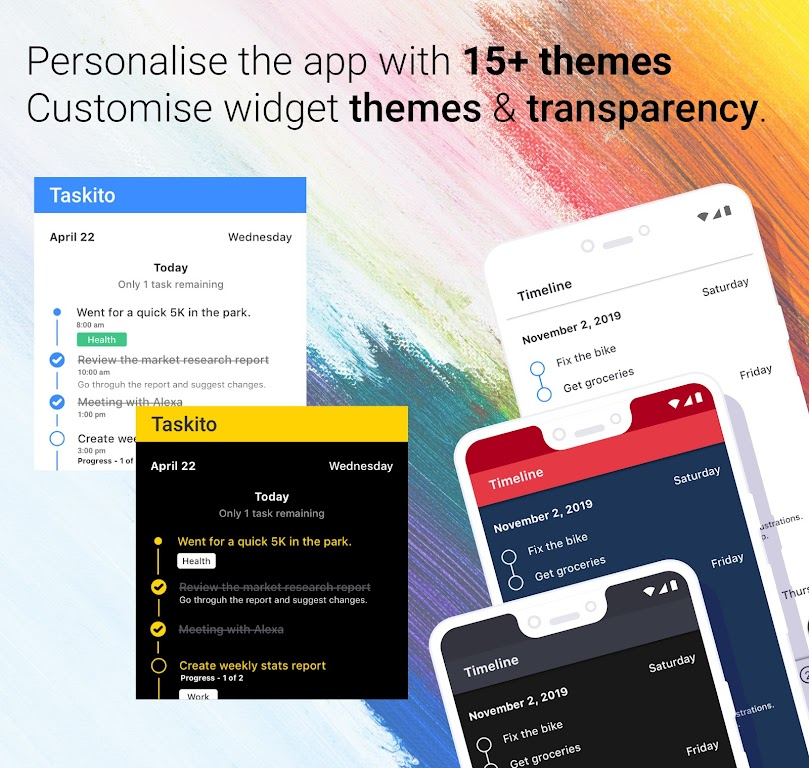 Taskito: To-Do List, Calendar & Reminders in one  poster 6