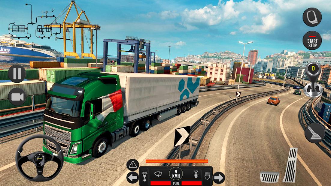 Screenshot 7 de Camión pesado mundial: nuevos juegos de camiones para android