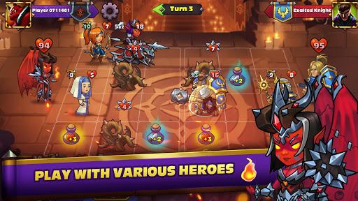 Télécharger Gratuit Heroes Of Magic - Card Battle APK MOD (Astuce) screenshots 1