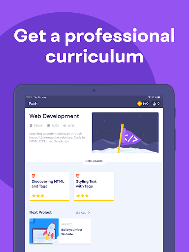 Mimo: Learn coding in HTML, JavaScript, Python android2mod screenshots 12