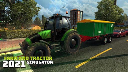 Real Farming and Tractor Life Simulator 2021 android2mod screenshots 3