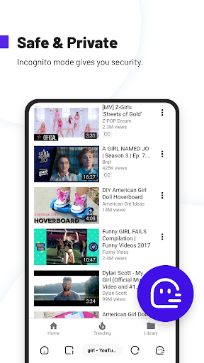 UC Browser Turbo- Fast Download, Secure, Ad Block 1.10.3.900 Screenshots 8