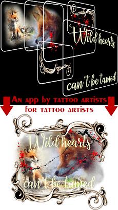 Tattoo Font Designer ❤️ A tattoo lettering appのおすすめ画像1