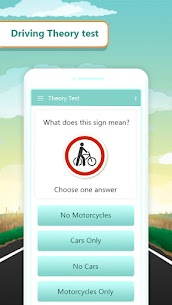 Driving Theory Test and Signs Code 2021 App For Android 2