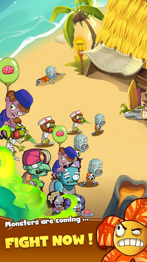Zombie Defense - Plants War - Merge idle games 0.0.9 screenshots 4