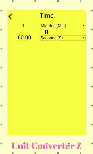 Unit Converter Z 1.1 screenshots 4