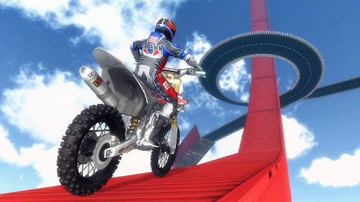 Mega Ramp Motorbike Impossible Stunts screenshots 5