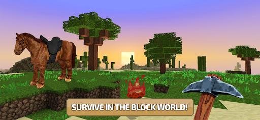 Craft World 3D: Free Block Craft Mini World games! apklade screenshots 1