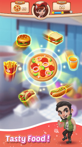 Cooking Crush Legend - Free New Match 3 Puzzle screenshots 4