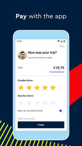 FREE NOW (mytaxi) - Taxi Booking App 10.41.0 Screenshots 5