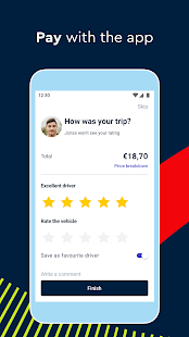 FREE NOW (mytaxi) - Taxi Booking App
