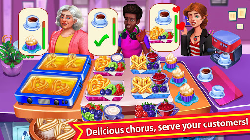 cooking crazy fever: crazy cooking new game 2021 screenshot 1