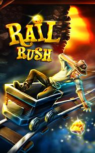 تحميل لعبة Rail Rush مهكرة للاندرويد [آخر اصدار] 1