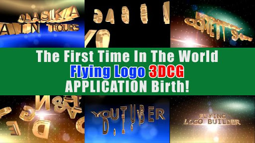 FLYING LOGO BUILDER - 3d Intro Movie Maker 2.0.1 Screenshots 2