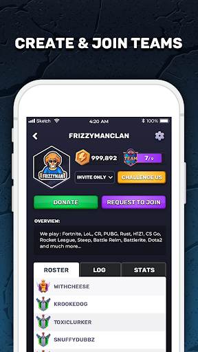 GIZER - Compete in Mobile Tournaments & Brackets  Screenshots 5
