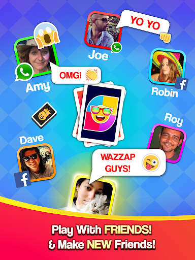 Card Party! Uno Online Games with Friends Family  screenshots 6