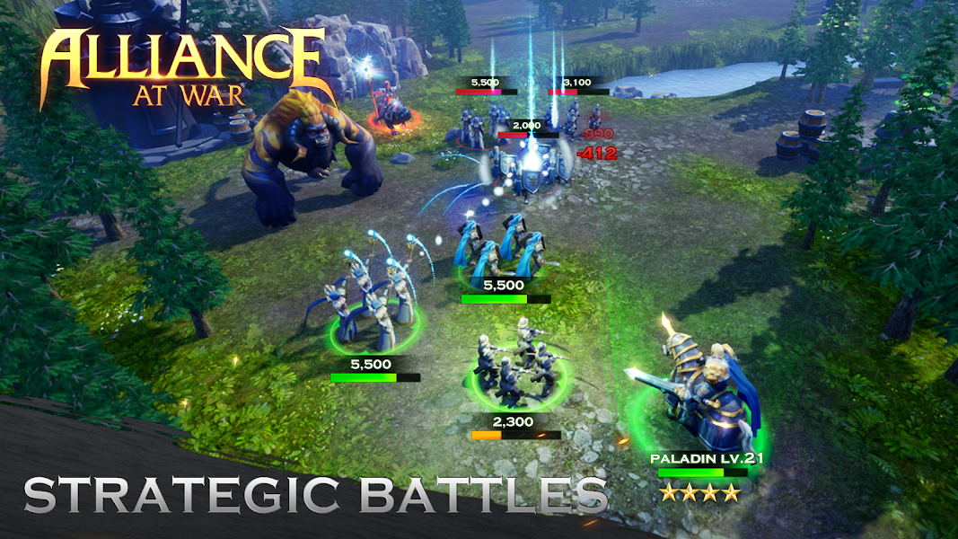 Alliance at War: Dragon Empire - Strategy MMO