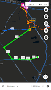New York State Snowmobile Association Map 20-21 For Android 5