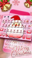 Kawaii Christmas Keyboard Theme
