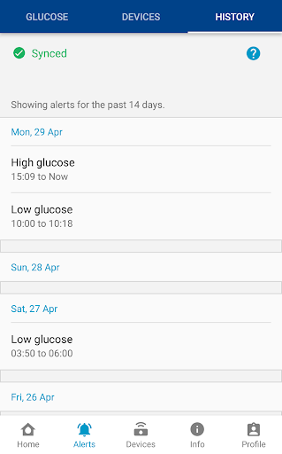 GlucoMen Day CGM: Real-Time Glucose Monitoring 1.5.0 Screenshots 5