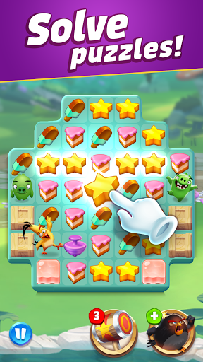 Angry Birds Match 3 4.8.1 screenshots 4