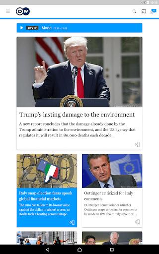 DW - Breaking World News 2.6.3 Screenshots 11