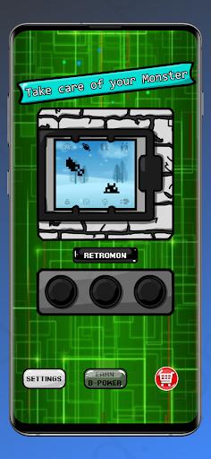RetroMon - Virtual Pet Monster apkdebit screenshots 2
