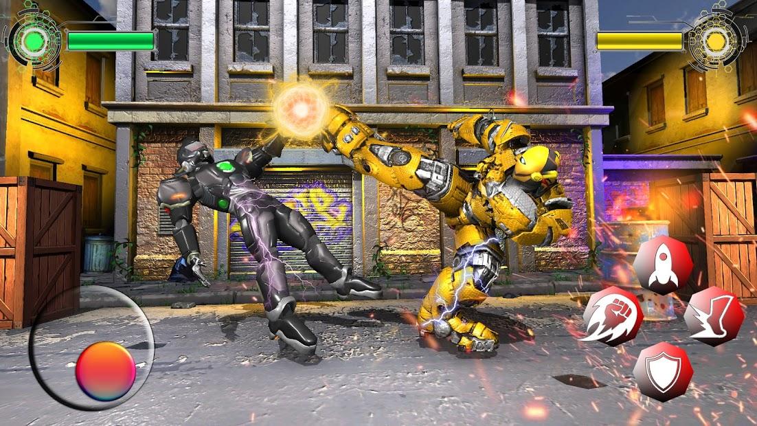 Grand Robot Ring Fighting: Robot Ring wrestling screenshot 1