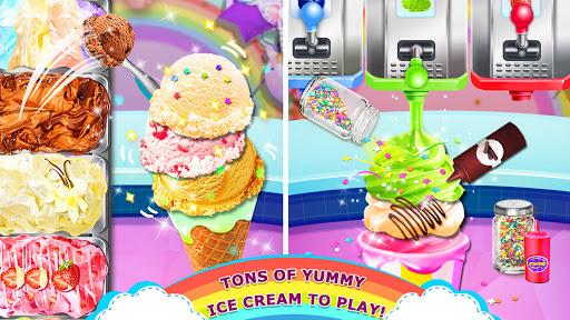 Rainbow Ice Cream - Unicorn Party Food Maker apktram screenshots 8