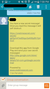 Easy Secret Messages