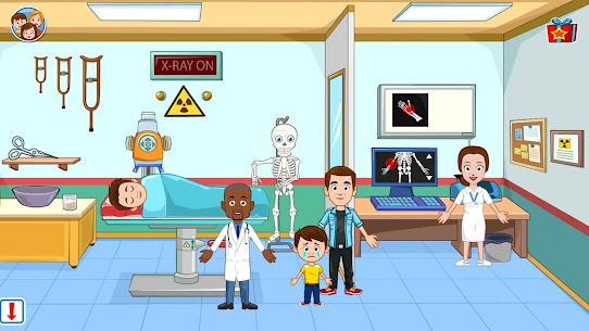 My Town : Hospital For Android [MOD, Paid] 6