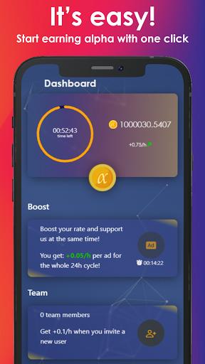 Alpha Network: Mobile Digital Asset modavailable screenshots 1