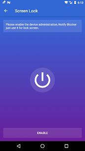 Notification Cleaner & Blocker & Screen Lock 2.3.1 Apk 5