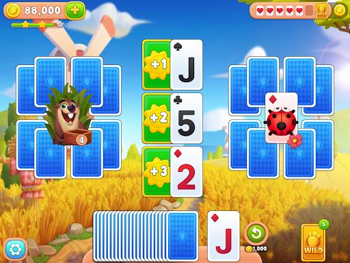 Solitaire Farm : Classic Tripeaks Card Games 1.1.0 screenshots 8