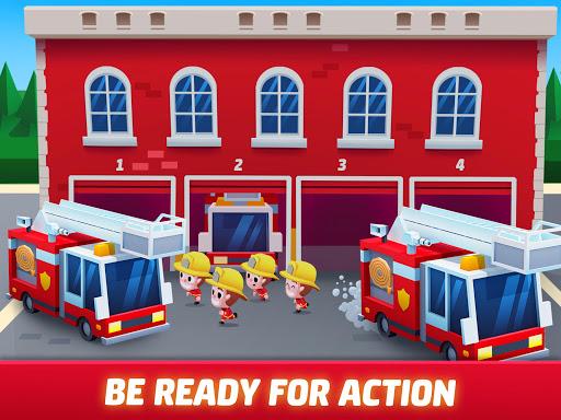 Idle Firefighter Tycoon - Fire Emergency Manager apktram screenshots 18