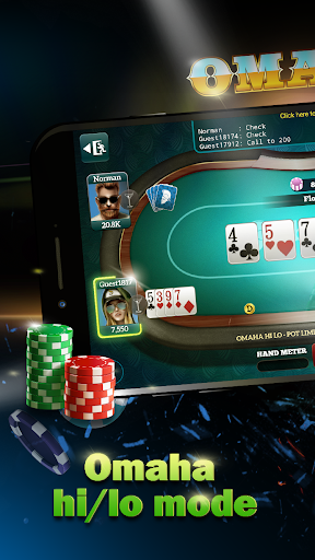 Live Poker Tablesu2013Texas holdem and Omaha 5.2.7 screenshots 3
