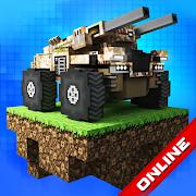 Blocky Cars: tank wars app thumbnail