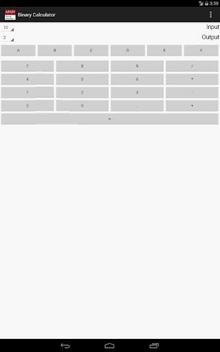 Binary Calculator For PC Windows (7, 8, 10, 10X) & Mac Computer Image Number- 13